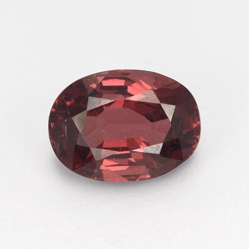 1ct Oval Facet Deep Red Spinel Gem (ID: 513467)