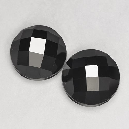 Schorl Spinel Gem - 3.7ct Round Rose-Cut (ID: 529574)