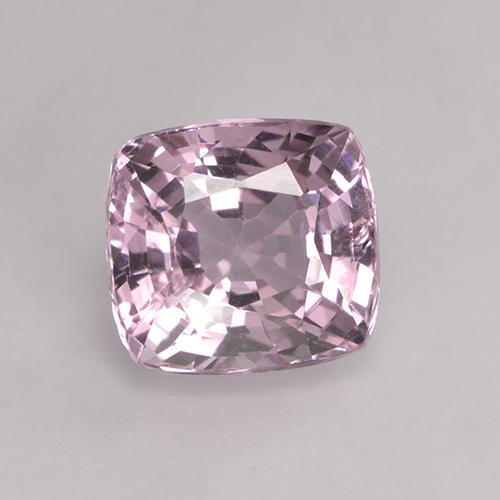 Light-Medium Pink Espinela Gema - 1.5ct Corte en Forma Cojín (ID: 530141)