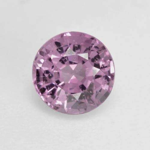 Mauve Spinel Gem - 0.6ct Round Facet (ID: 533325)