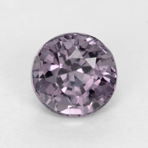 Grey Purple Espinela Gema - 0.7ct Faceta Redonda (ID: 540186)