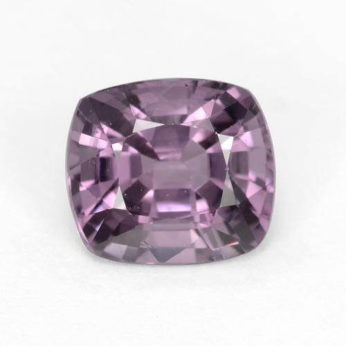 Light Grape Purple Espinela Gema - 1.3ct Corte en Forma Cojín (ID: 545751)