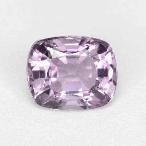 Very Light Grape Purple Espinela Gema - 1.3ct Corte en Forma Cojín (ID: 546204)
