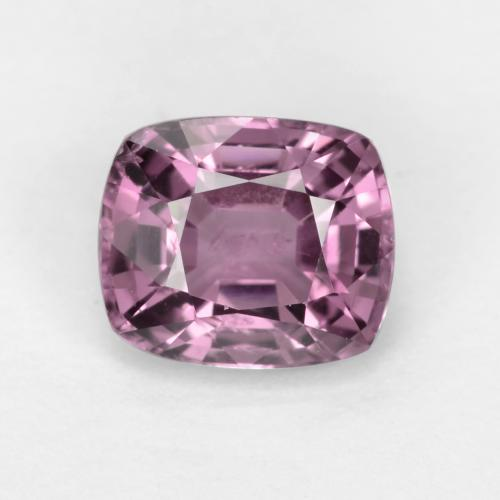 Medium Purple Espinela Gema - 1.2ct Corte en Forma Cojín (ID: 548657)