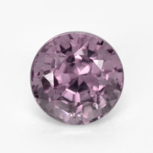 Light Grape Purple Espinela Gema - 0.7ct Faceta Redonda (ID: 549003)