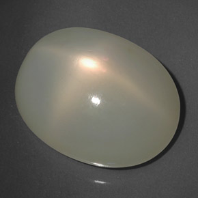 thumb image of 17.3ct Oval Cabochon Cream Star Moonstone (ID: 325814)