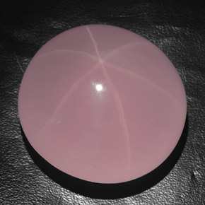 Pink Star Rose Quartz Gem - 383ct Oval Cabochon (ID: 354763)
