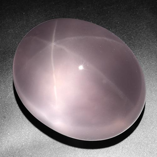 Rose Pink Star Rose Quartz Gem - 430.9ct Oval Cabochon (ID: 505890)
