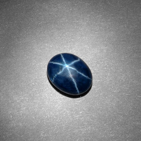 Buy 3.32 ct Blue Star Sapphire 9.40 mm x 7.4 mm from GemSelect (Product ID: 296683)