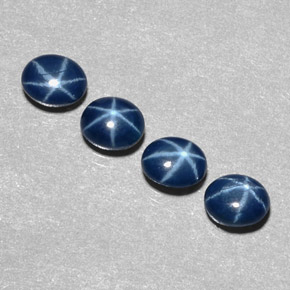 Buy 2.64 ct Blue Star Sapphire 5.28 mm x 4.3 mm from GemSelect (Product ID: 300203)