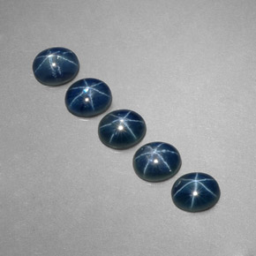 Buy 3.07ct Blue Star Sapphire 5.22mm x 4.24mm from GemSelect (Product ID: 318701)