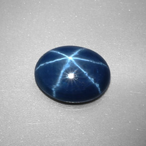Buy 2.34 ct Blue Star Sapphire 9.25 mm x 7.2 mm from GemSelect (Product ID: 329149)