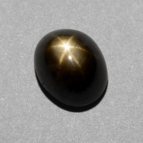 thumb image of 1.7ct Oval Cabochon Black Star Sapphire (ID: 488737)