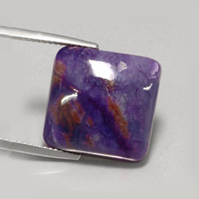 Buy 15.15 ct Violet Sugilite 16.28 mm x 16.5 mm from GemSelect (Product ID: 254177)