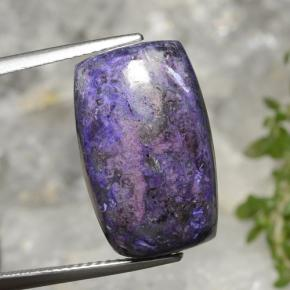 Multicolor Sugilite Gem - 14.4ct Cushion Cabochon (ID: 471246)
