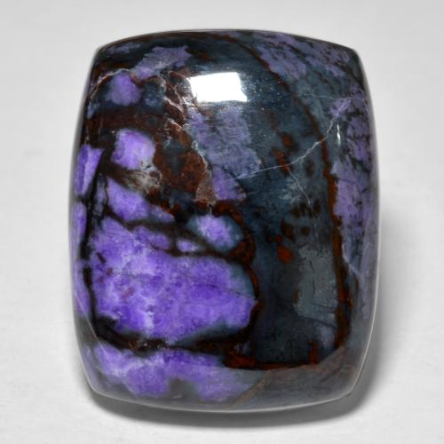 20.6ct Cushion Cabochon Multicolor Violet Sugilite Gem (ID: 472097)