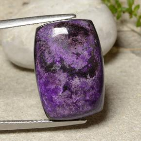 Multicolor Sugilite Gem - 20.2ct Cushion Cabochon (ID: 482493)