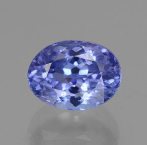 1.6ct Oval Facet Intense Violet Blue Tanzanite Gem (ID: 148347)