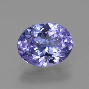 Buy 2.30 ct Bluish Violet Tanzanite 9.78 mm x 7.8 mm from GemSelect (Product ID: 254311)