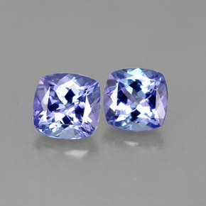 Buy 2.26 ct Violet Blue Tanzanite 5.93 mm x 5.9 mm from GemSelect (Product ID: 290163)