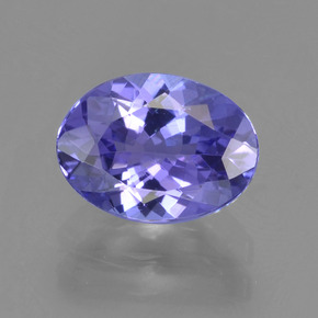 Buy 1.48 ct Bluish Violet Tanzanite 8.00 mm x 5.9 mm from GemSelect (Product ID: 291329)
