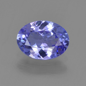 1.1ct Oval Facet Violet Blue Tanzanite Gem (ID: 295059)
