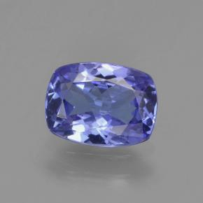 Violet Blue Tanzanite Gem - 1.3ct Cushion-Cut (ID: 295946)
