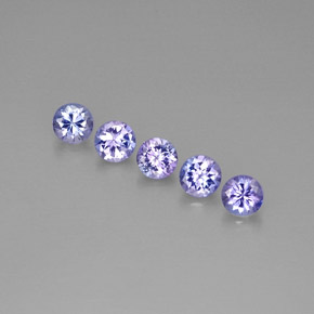 Buy 1.39 ct Violet Blue Tanzanite 3.96 mm  from GemSelect (Product ID: 297678)