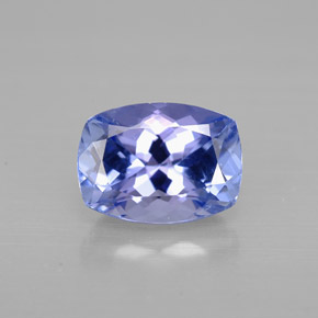Buy 1.29 ct Violet Blue Tanzanite 7.43 mm x 5.5 mm from GemSelect (Product ID: 297920)