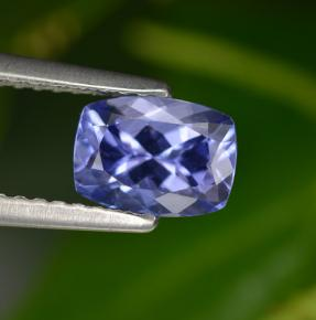 Buy 0.99 ct Bluish Violet Tanzanite 7.03 mm x 5.1 mm from GemSelect (Product ID: 297931)