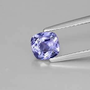 Buy 0.77 ct Bluish Violet Tanzanite 5.78 mm x 5.6 mm from GemSelect (Product ID: 301070)
