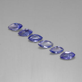 Buy 1.86 ct Violet Blue Tanzanite 7.08 mm x 3.5 mm from GemSelect (Product ID: 310941)
