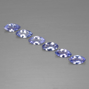 Buy 1.82 ct Violet Blue Tanzanite 6.92 mm x 3.5 mm from GemSelect (Product ID: 311205)
