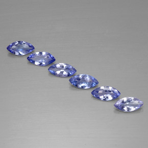 Buy 1.87 ct Violet Blue Tanzanite 7.00 mm x 3.4 mm from GemSelect (Product ID: 311207)