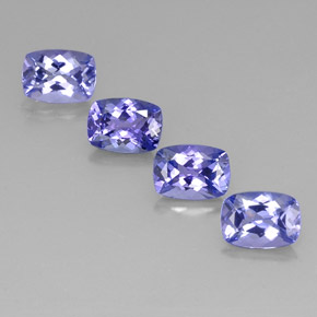 Buy 4.17 ct Violet Blue Tanzanite 7.23 mm x 5.2 mm from GemSelect (Product ID: 313942)