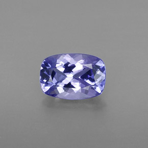 Buy 0.81 ct Violet Blue Tanzanite 7.01 mm x 4.9 mm from GemSelect (Product ID: 313984)