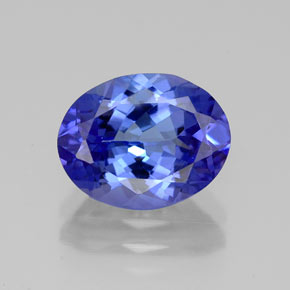 Buy 2.80 ct Violet Blue Tanzanite 10.22 mm x 7.9 mm from GemSelect (Product ID: 324216)