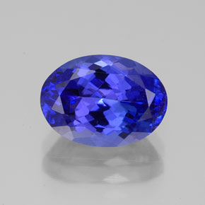Buy 3.33ct Violet Blue Tanzanite 10.61mm x 7.72mm from GemSelect (Product ID: 324217)