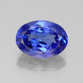 3.2ct Violet Blue Tanzanite Gem from Tanzania