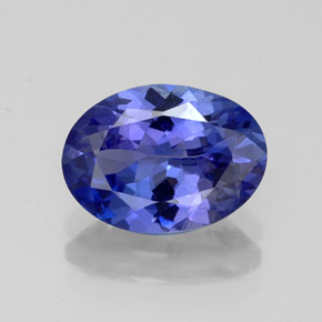 Buy 2.57ct Violet Blue Tanzanite 10.43mm x 7.61mm from GemSelect (Product ID: 324342)