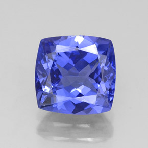 Buy 2.40 ct Violet Blue Tanzanite 8.08 mm x 7.9 mm from GemSelect (Product ID: 324416)