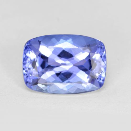 Violet Blue Tanzanite Gem - 1.4ct Cushion-Cut (ID: 347524)