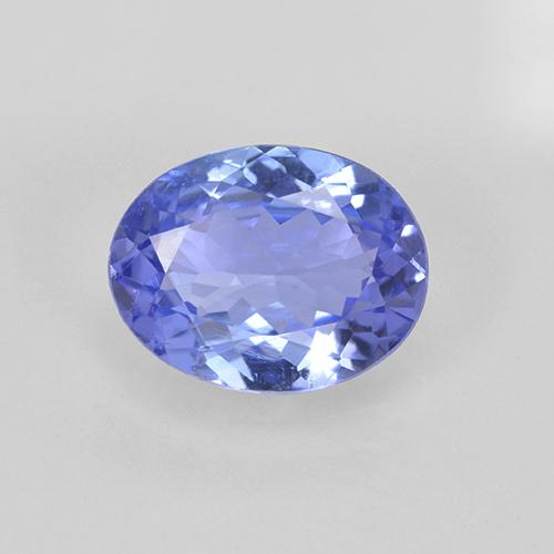 thumb image of 1.7ct Oval Facet Violet Blue Tanzanite (ID: 348065)