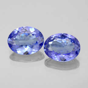 thumb image of 1.5ct Oval Facet Violet Blue Tanzanite (ID: 348187)