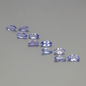 Violet Blue Tanzanite Gem - 0.3ct Marquise Facet (ID: 350377)
