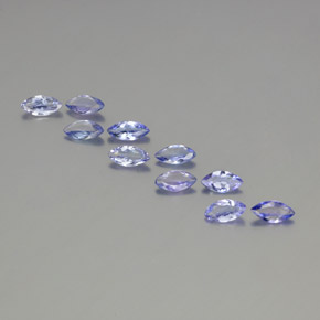 Violet Blue Tanzanite Gem - 0.3ct Marquise Facet (ID: 350379)
