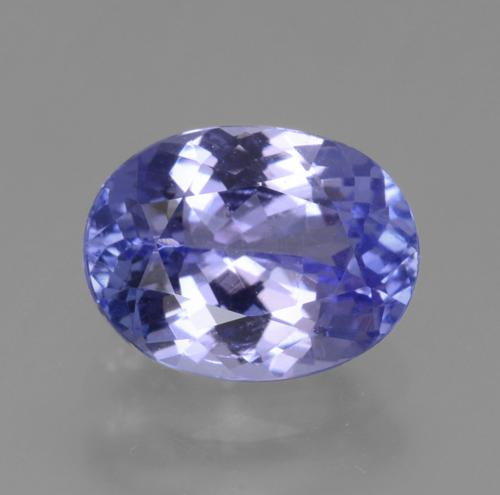 1.8ct Oval Facet Intense Violet Blue Tanzanite Gem (ID: 361640)