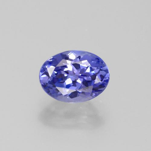 1.4ct Oval Facet Medium Blue Tanzanite Gem (ID: 377773)