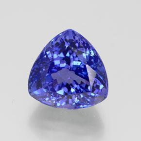 Blue Tanzanite 7 5 Carat Trillion From Tanzania Gemstone