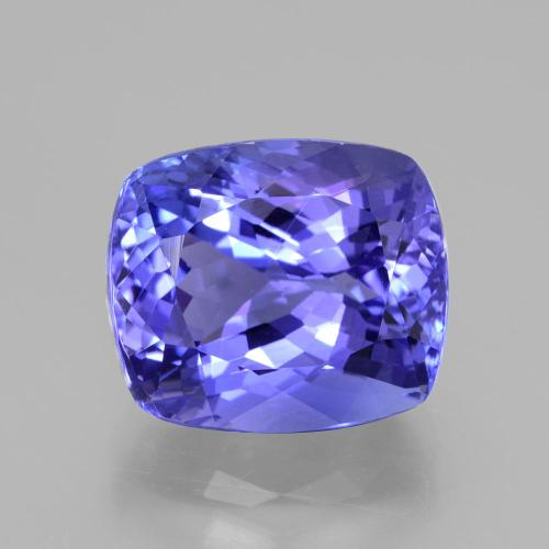 Violet Blue Tanzanite Gem - 8ct Cushion-Cut (ID: 389778)